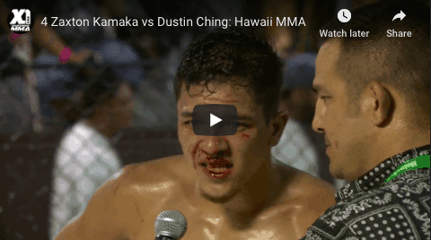 4 Zaxton Kamaka vs Dustin Ching: Hawaii MMA