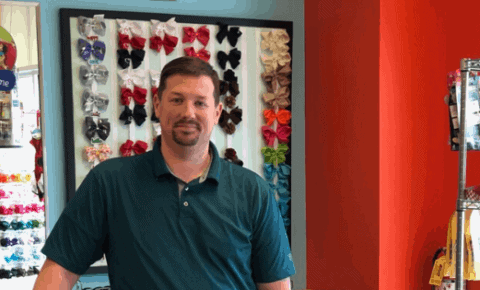 Pigtails & Crewcuts franchisee Andrew McGehee