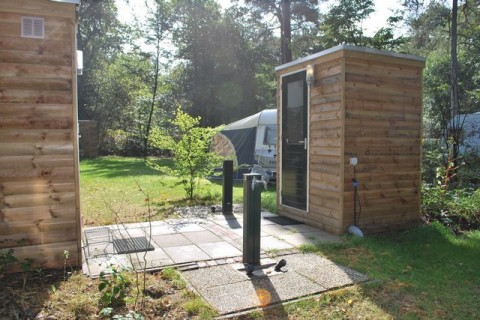 Camping Diever prive sanitair