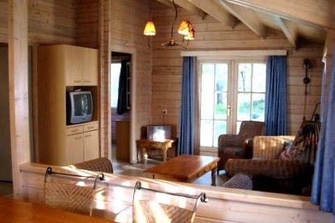 Alberthoeve bungalow woonkamer