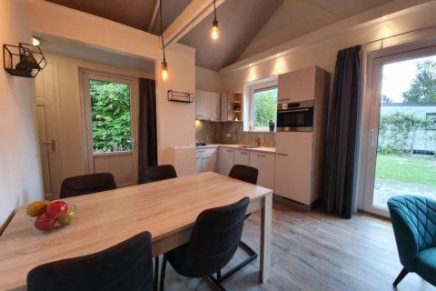 Vakantiehuis Camping Alkenhaer Keuken