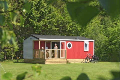 Camping Zonnekamp Verhuurchalet Drenthe