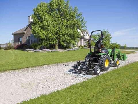 Small Tractor TR3 E-Series Property Edition DIY Gravel Driveway Grader