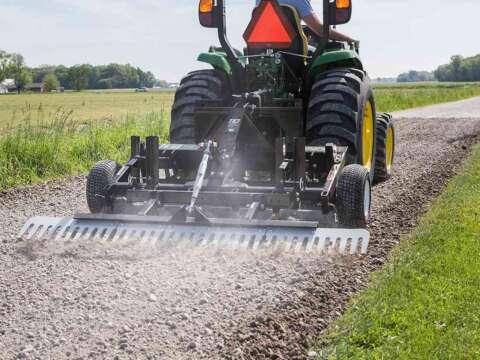 Small Tractor DIY Driveway Grader Long Gravel Driveway