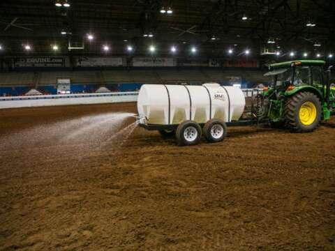 Tractor 1600 Water Trailer Horse Arena