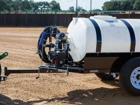 Tractor 500 Gallon Compact Water Trailer Pump System
