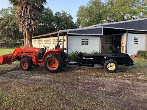 Tractor ABI 65 ft3 Ground Drive Manure Spreader Manure Management