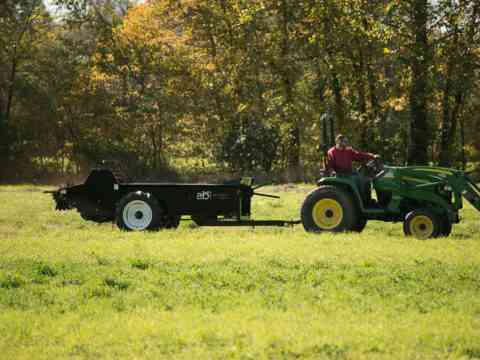 Tractor Pull behind 85 Ground drive manure spreader
