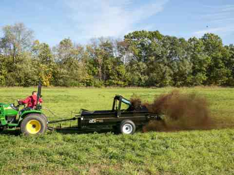Manure Spreader For Tractor