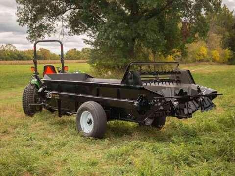 Tractor 125 PTO Manure Spreader