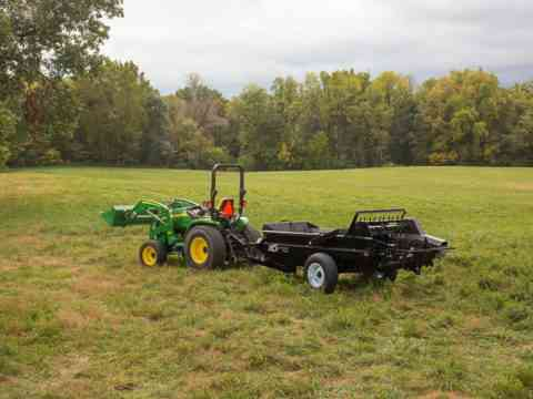 85 PTO Manure Spreader For Pastures