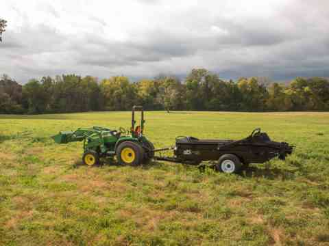Farm Manure Spreader