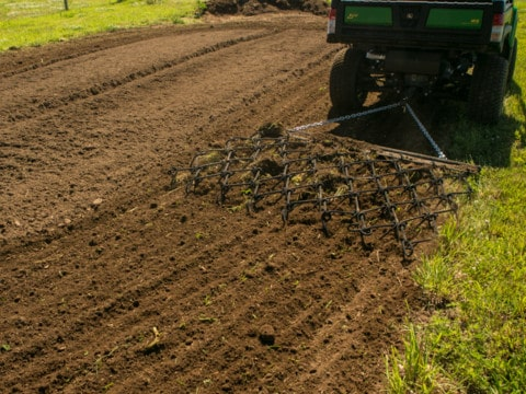 Pull Behind Chain Harrow For ATV Tow Vehicles