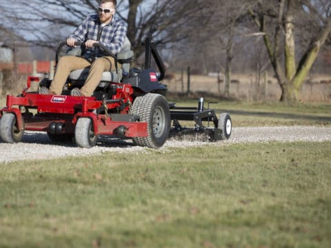 Pull Behind ABI Gravel Grader For Lawn Mowers