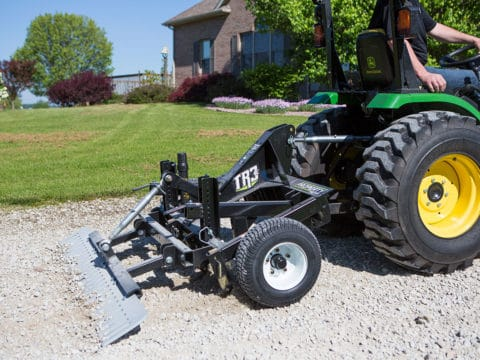 Small Tractor 3-Point Driveway Grader Rural Property