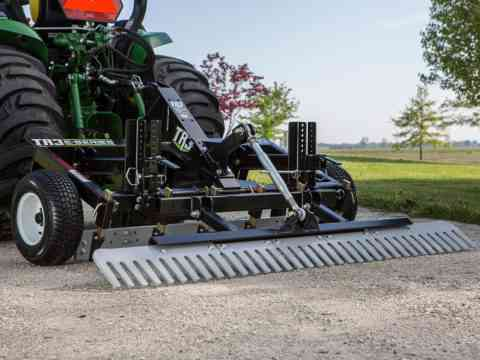 Small Tractor 3 Point DIY Gravel Driveway Grader