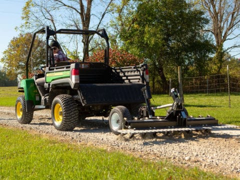 ATV/UTV ABI Gravel Rascal For Gravel Driveways