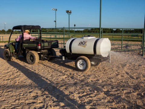 ATV/UTV 300 Gallon Compact Water Trailer Round Pens