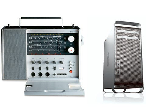 Braun Radio T1000 (1967) - Apple PowerMac G5 / Mac Pro (2003)