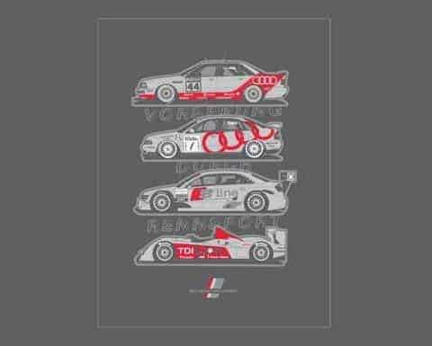 Misc Posters - Audi Advance - 18x24