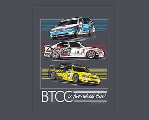 Misc Posters - BTCC Two-Wheelers - 18x24