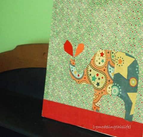Paper Elephant Craft - Wall Art - Kids Room