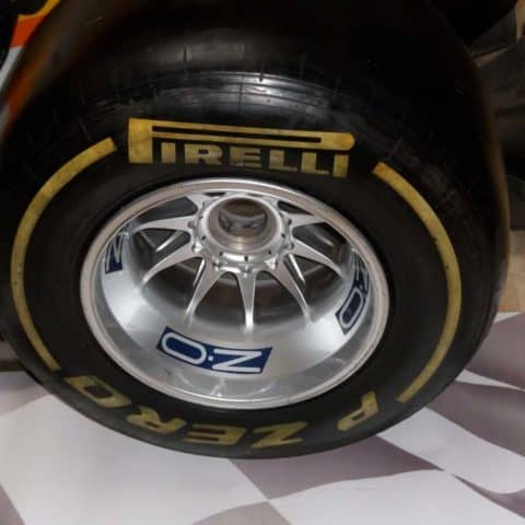 NOW SOLD-VETTEL WORLD CHAMP WINNING REAR WHEEL