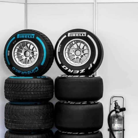 F1 tyre Stack