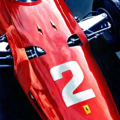 Ferrari 158F1 by Alex Stutchbury