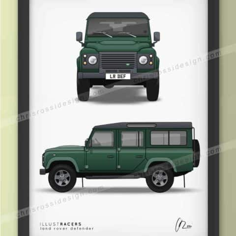Land Rover Defender 110 Print