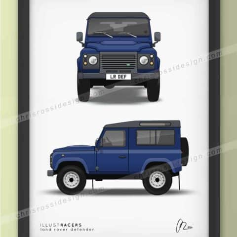 Land Rover Defender 90 Print