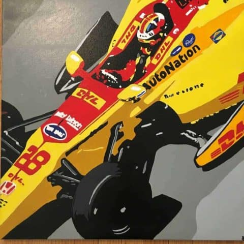 Ryan Hunter-Reay Indy car