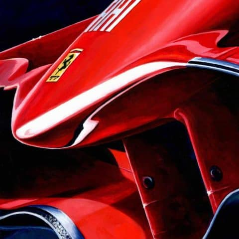 Ferrari F2008 by Alex Stutchbury