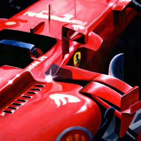 Ferrari SF70H by Alex Stutchbury