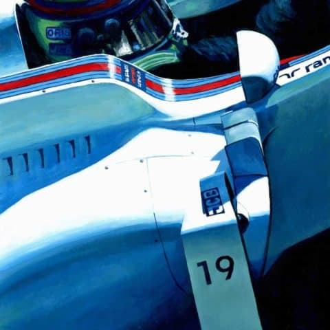 Felipe Massa by Alex Stutchbury