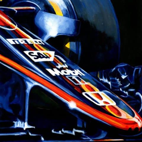 McLaren MP4-30 by Alex Stutchbury