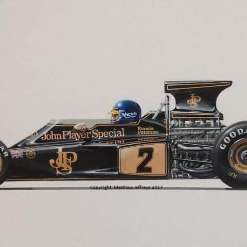 Peterson JPS Lotus 72E
