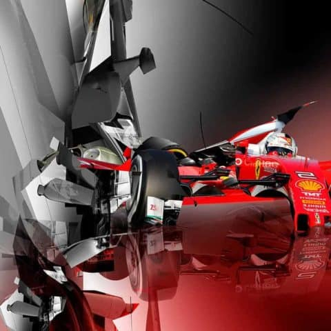 Crossing_The_Mirror_1 I S.Vettel | by Marko-f1