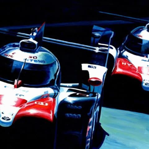 Toyota TS050 Hybrid by Alex Stutchbury