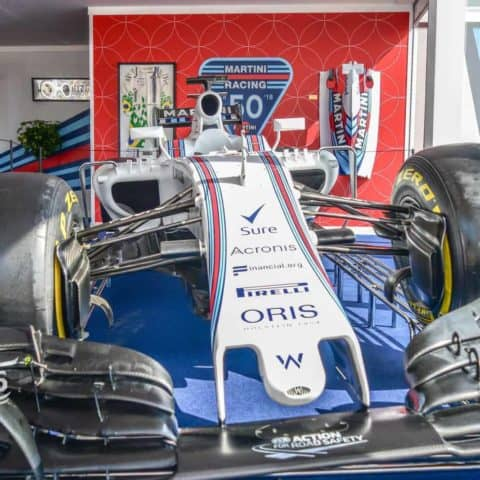 Felipe Massa Williams F1 car HD Print
