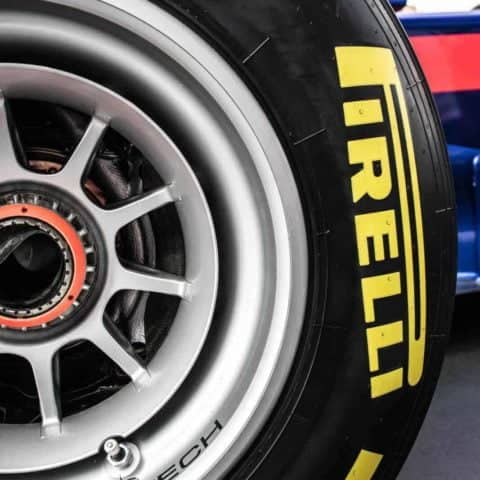 Toro Rosso F1 Wheel and Tyre detailing Print