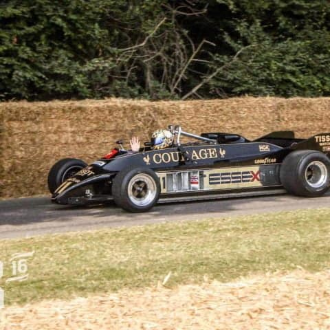 Vintage Lotus 88 F1 car HD Print