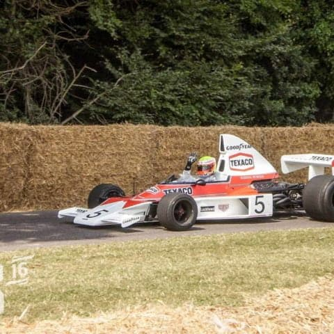 Emerson Fittipaldi 1974 McLaren HD Print