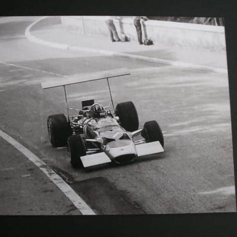 Graham Hill Photograph