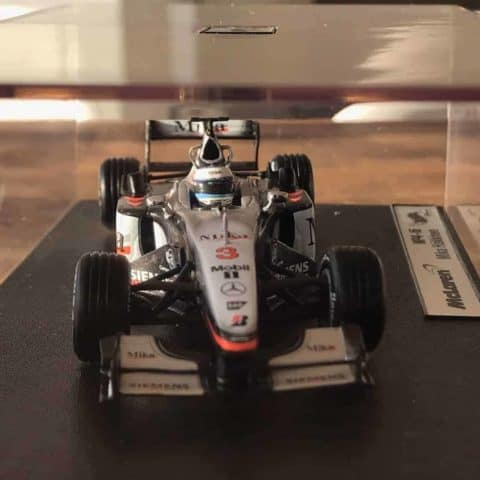 Mika Hakkinen 1:43 Scale Model 2001 McLaren MP4-16