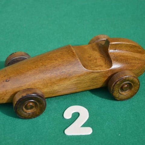 Handmade Mercedes Car (Oak)