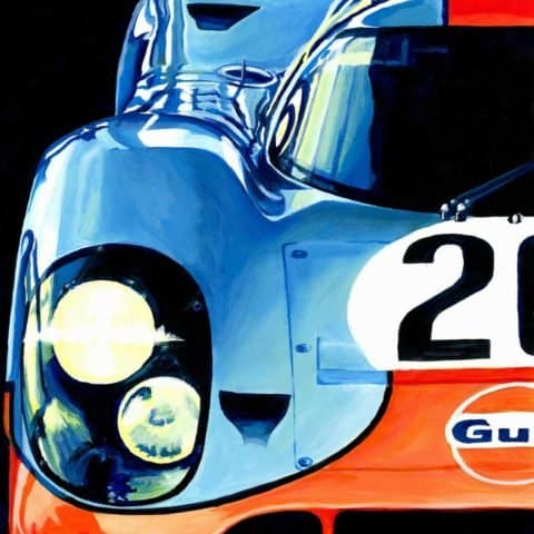 ORIGINAL: Porsche 917K | 1970 by Alex Stutchbury