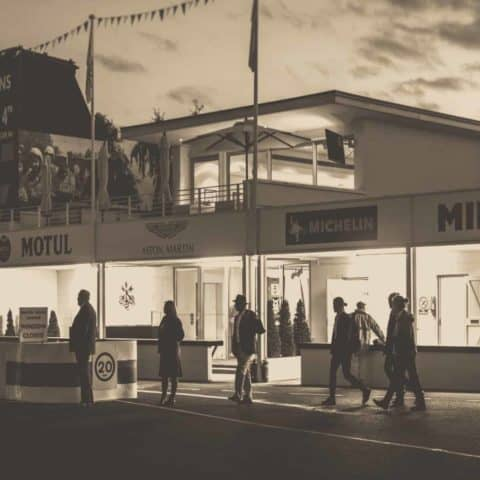 Goodwood Revival at Twilight