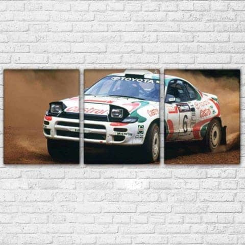 Toyota Castrol Rally Modular Wall Art Canvas