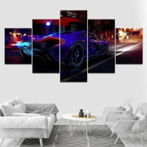 McLaren Automotive Modular Wall Art Canvas
